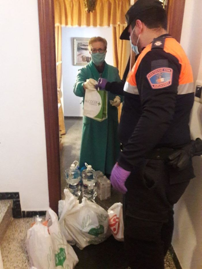 Protecció Civil Burjassot ha realitzat més de 500 hores de servei des de l'inici de l'estat d'alarma