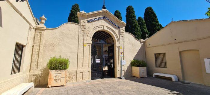 El cementeri d'Alzira pot rebre visites des d'este dimecres