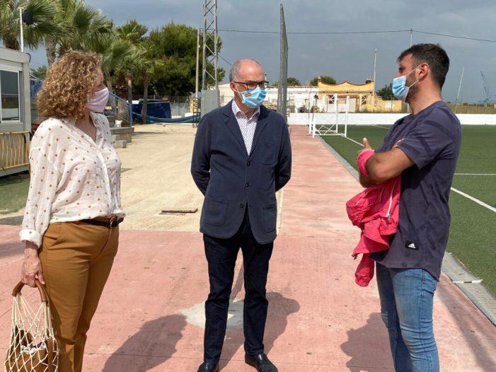 Fernando de Rosa i Amparo Folgado visiten els projectes socials de Nova Vida a Torrent