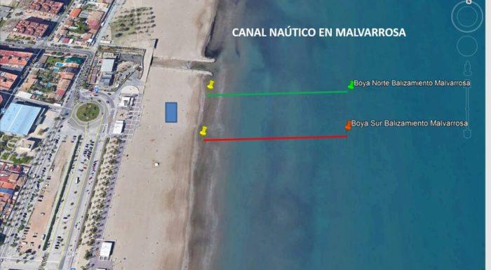 Aquests són els cinc canals nàutics per a practicar esport a les platges de València