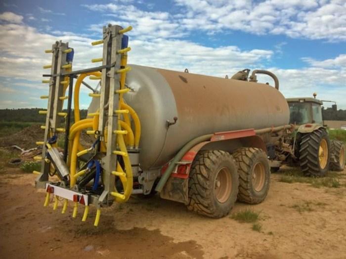 LA UNIÓ demana una moratòria fins a febrer del pròxim any per a la supressió del ventall com a mètode d'aplicació de purins en les explotacions agràries