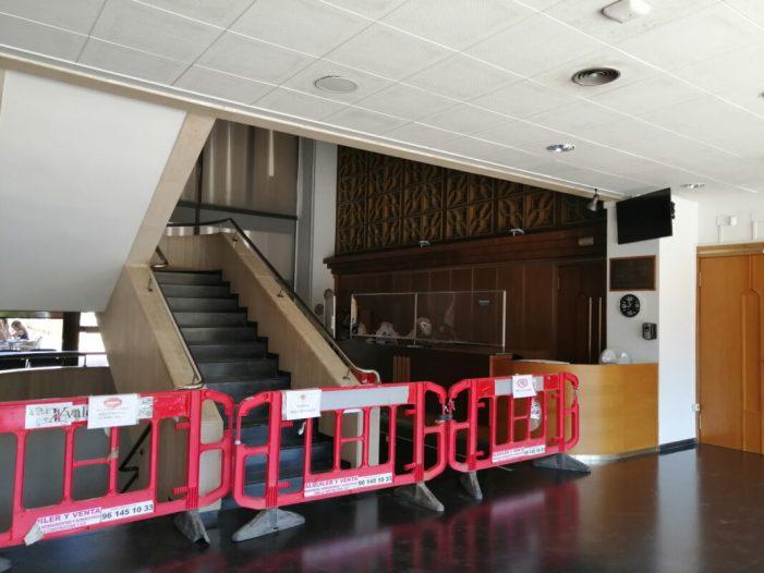 El Centre Cultural d'Almussafes renova al complet el seu sistema de climatització