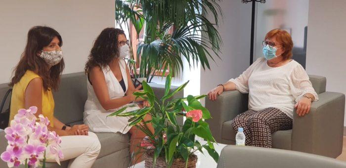 La delegada del Govern en la Comunitat Valenciana rep a l'alcaldessa de Paiporta