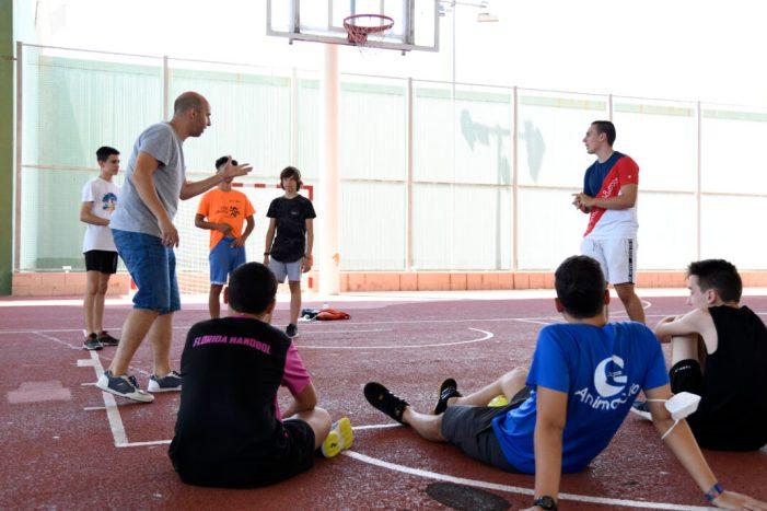 Taller de rap front al coronavirus i improvisació teatral al Campus d'Estiu de Paiporta