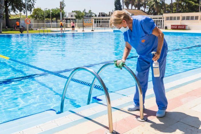 La piscina d'estiu del Poliesportiu de Picassent obri les seues portes amb totes les mesures de seguretat