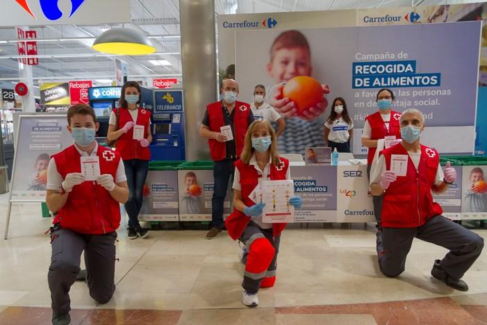 Gràcies a la campanya #KilosdeSolidaridad, una iniciativa de Cadena SER, LOS40 i Cadena Dial juntament amb Fundació Solidaritat Carrefour i Creu Roja