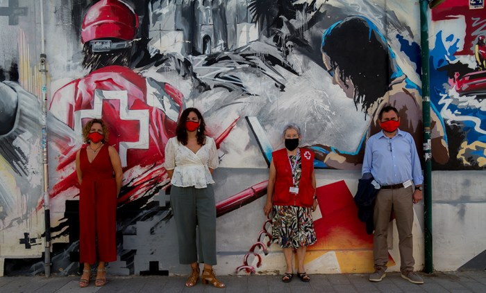 Creu Roja reparteix 3.173 cistelles d'aliments en el domicili de persones majors a la ciutat de València