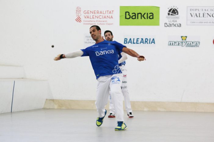 Comencen les semifinals de la lliga Bankia d'escala i corda