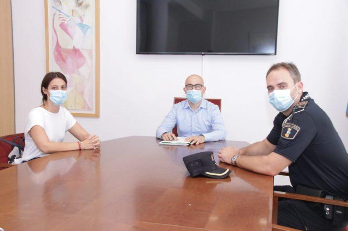 La Policia Local d'Alaquàs reforça la seua estructura amb la incorporació d'una nova agent i un inspector