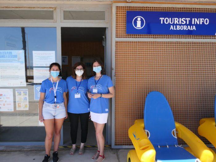 "Les oficines Tourist Info d'Alboraia,situades en Patacona i Port Saplaya, reben el segell ""Responsible Tourism"""