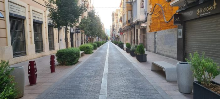 Del 17 al 24 d'agost en obres per reparació del ferm el primer tram de Benito Pérez Galdós, de plaça Major a Reis Catòlics a Alzira