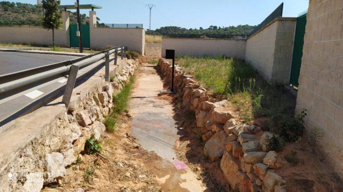 Alzira modernitza el control de cabdals dels barrancs Maria Gràcia, Fosc i del Racó per mig de sensors