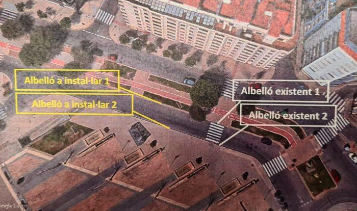 Dos nous albellons solucionaran el problema d'embassaments a l'avinguda Joan Calot d'Alzira