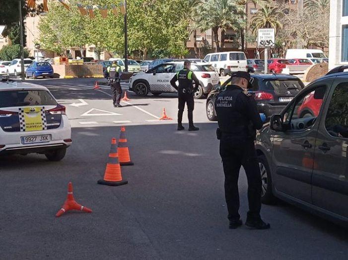La policia de Xirivella posa fre a la conducció temerària