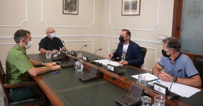 L'alcalde de València, Joan Ribó, s'ha reunit amb l'alcalde de Silla, Vicente Zaragozá