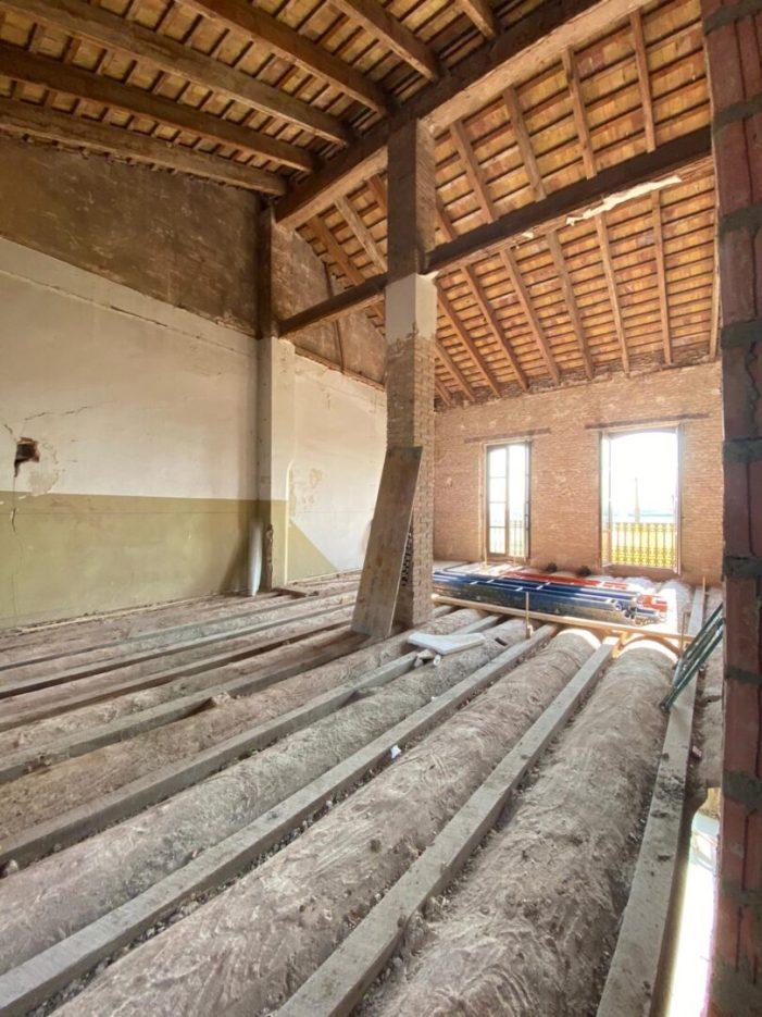 L'Ajuntament de Cases de Bàrcena tindrà una coberta vegetal ecològica