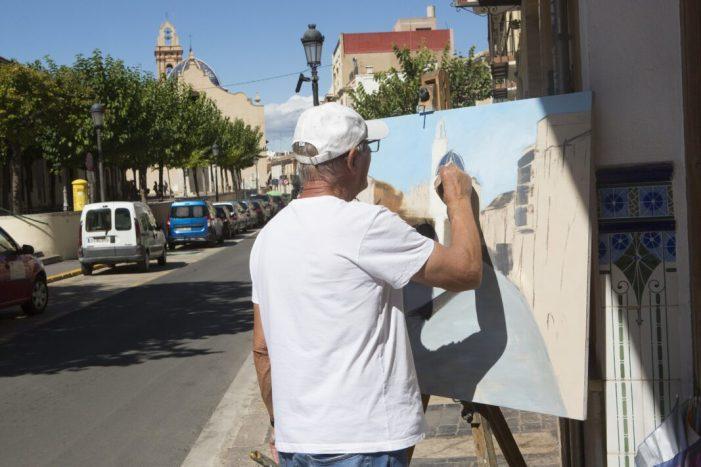 """Godella celebra el Concurs de Pintura Ràpida amb un """"nivell altíssim"""""""
