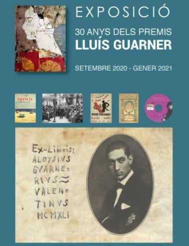 La Biblioteca Valenciana presenta una exposició sobre '30 anys dels Premis Lluís Guarner'