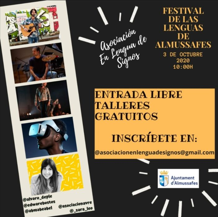 L'Associació En Llengua de Signes d'Almussafes organitza el Festival de les Llengües