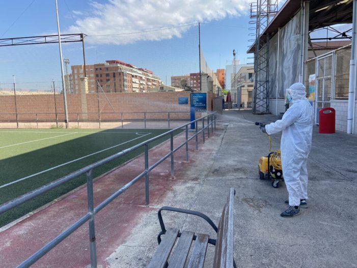La Ciutat de l'Esport d'Alboraia reprén l'activitat esportiva amb un estricte protocol sanitari