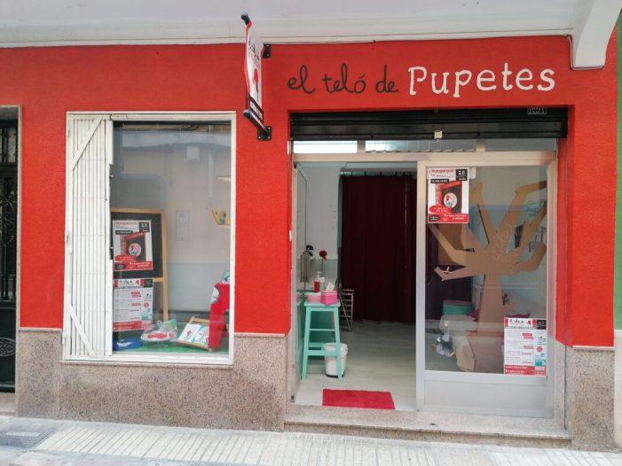 Alzira obri el teló a la primera acadèmia especialitzada en teatre i expressió artística per a xiquets i xiquetes: el teló de pupetes