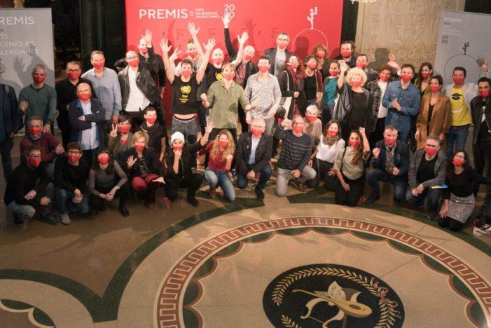 Els nominats als Premis de les Arts Escèniques Valencianes es reuneixen al Teatre Principal