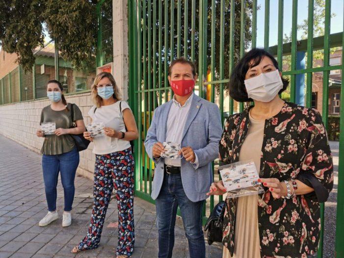 Xirivella repartirà màscares reutilitzables a tot el seu alumnat