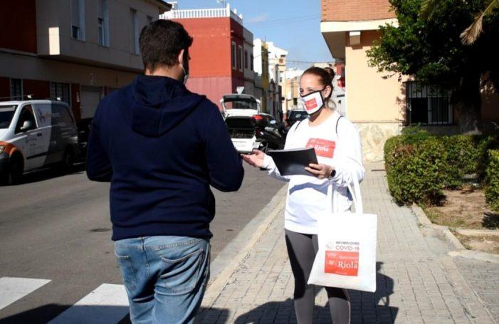 L'Ajuntament de Riola inicia una campanya d'informació per prevenir la COVID-19.