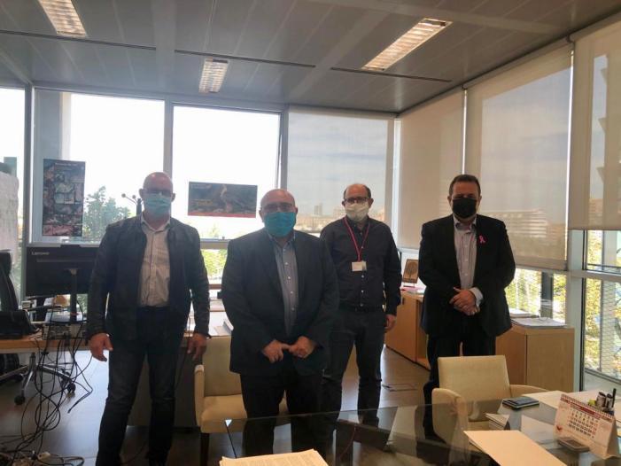 Els alcaldes de Sueca, El Perelló i Mareny de Barraquetes es reuneixen amb el director general del Medi Natural per a posar fi a l'asfíxia territorial que pateixen pel PRUG i el PORN