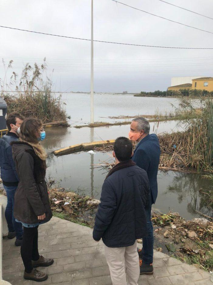 Ciutadans demana que la Diputació concedisca ajudes als municipis afectats pel temporal