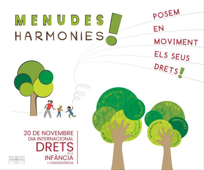 Burjassot participa en la campanya Menudes Harmonies! de la Diputació de València per a commemorar el Dia Internacional dels Drets de la Infància i l'Adolescència