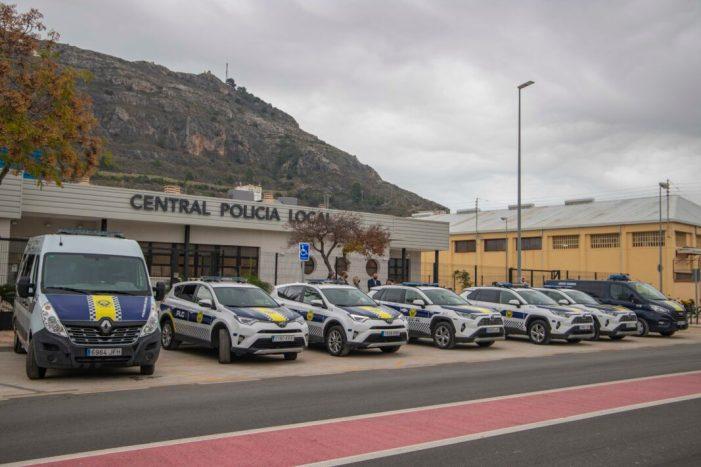 Cullera reforça la flota de la Policia Local amb vehicles híbrids
