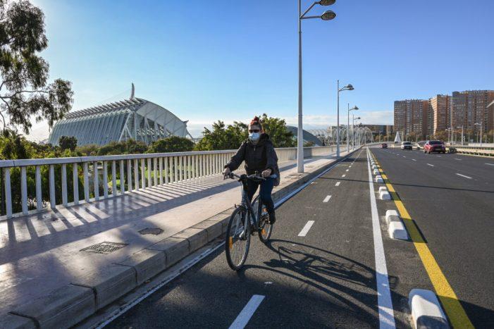 València optarà al finançament europeu per a la construcció de carrils bici per més de 6,6 milions