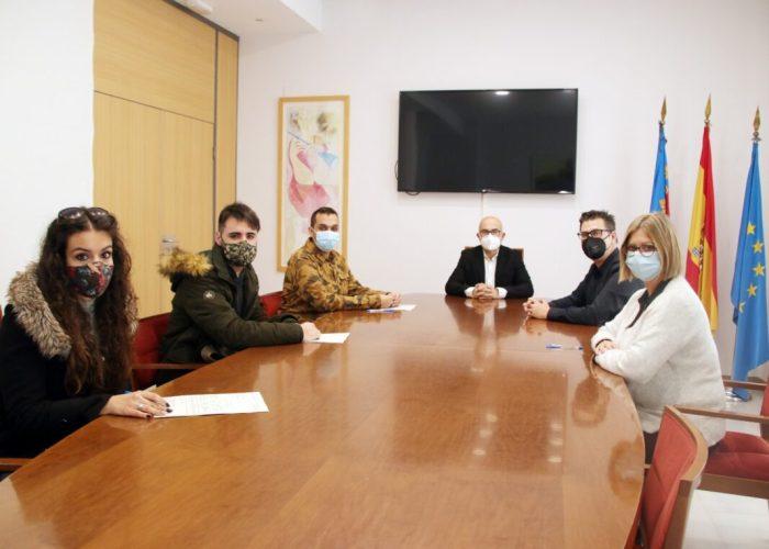 L'Ajuntament d'Alaquàs contracta quatre joves a través del programa d'ocupació EMPUJU