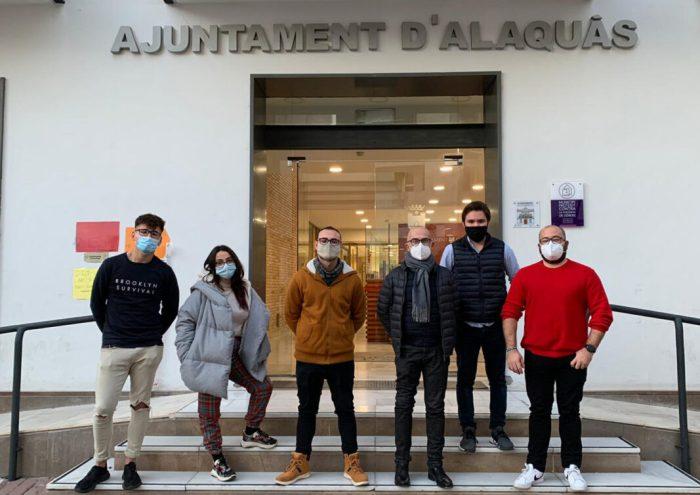 Quatre joves d'Alaquàs participen en un nou Programa Europeu que fomenta la solidaritat en la societat