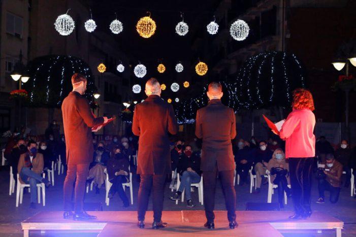 Mislata acull un concert especial de Nadal amb totes les mesures de seguretat