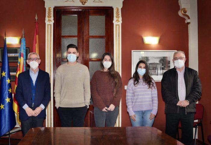 Alboraia contracta a tres joves a través del programa EMPUJU