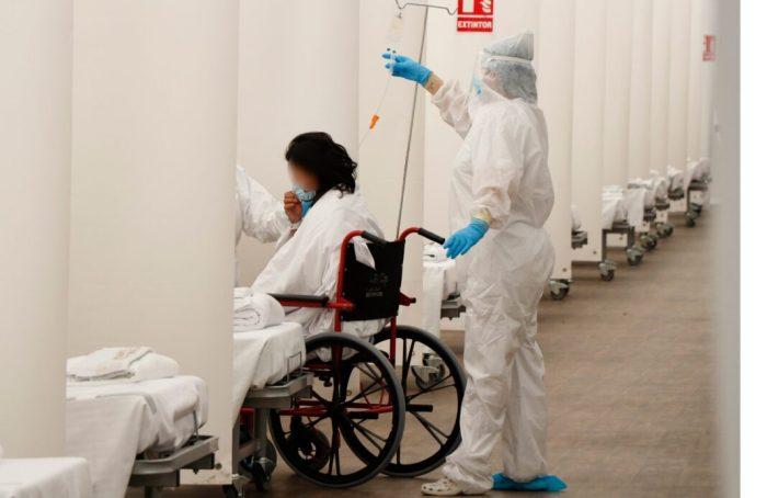Els pacients de l'hospital de campanya de la Fe tornaran a la seua ubicació quan milloren les condicions meteorológicas