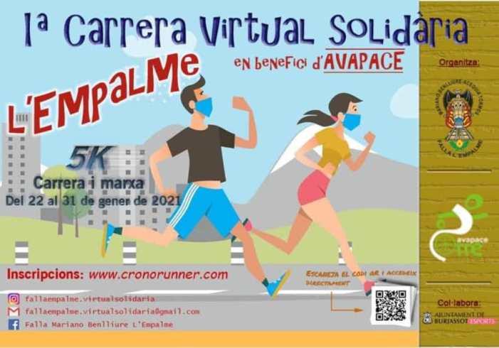 La Falla Mariano Benlliure-Acequia Tormos organiza su I Carreta virtual solidaria en beneficio de Avapace