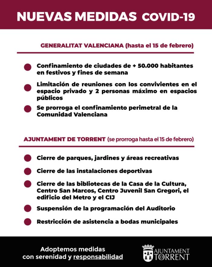 La Generalitat aprova un nou paquet de mesures contra el COVID-19 en la Comunitat Valenciana