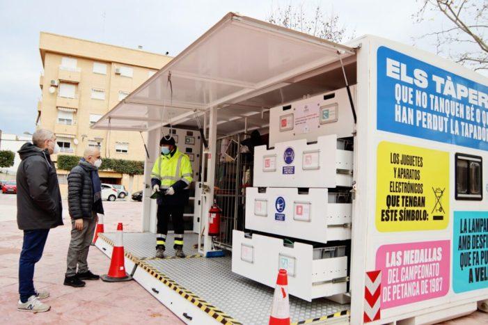 Alaquàs ha posat en marxa una campanya informativa per tal de conscienciar la ciutadania sobre la importància del reciclatge de tot tipus de residus