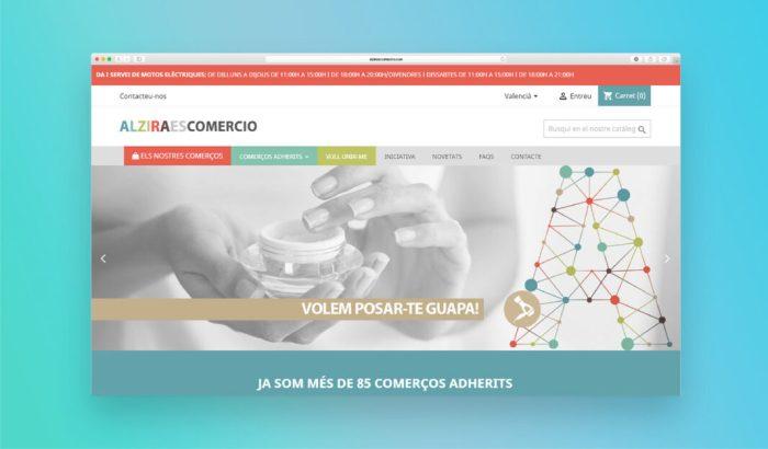 Alziraescomercio.com tanca la campanya de Nadal amb resultats molt positius respecte al creixement d'usuaris i vendes