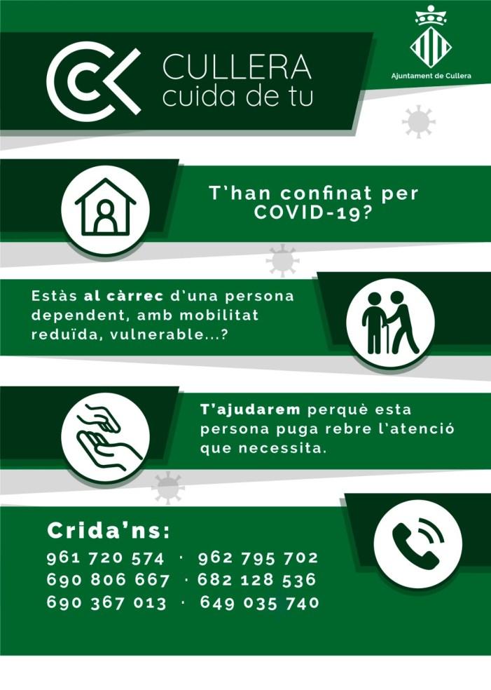 Cullera facilita un servei d'atenció personalitzada a persones vulnerables