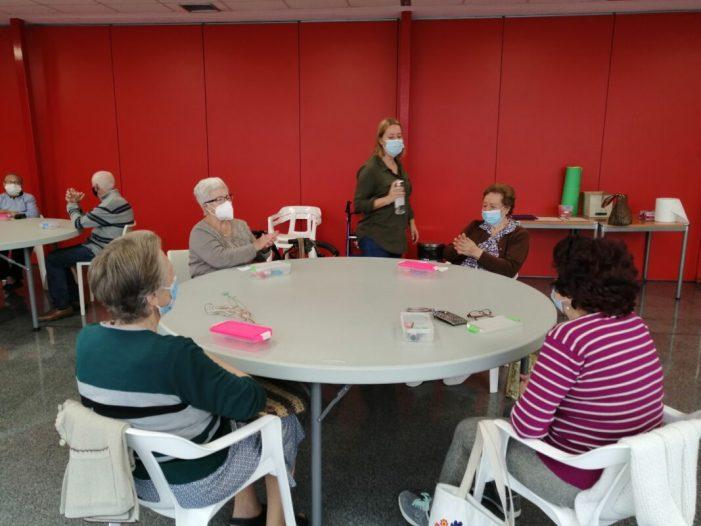 El programa 'Espai Gran' de l'Ajuntament d'Almussafes s'imparteix a distància durant el mes de gener