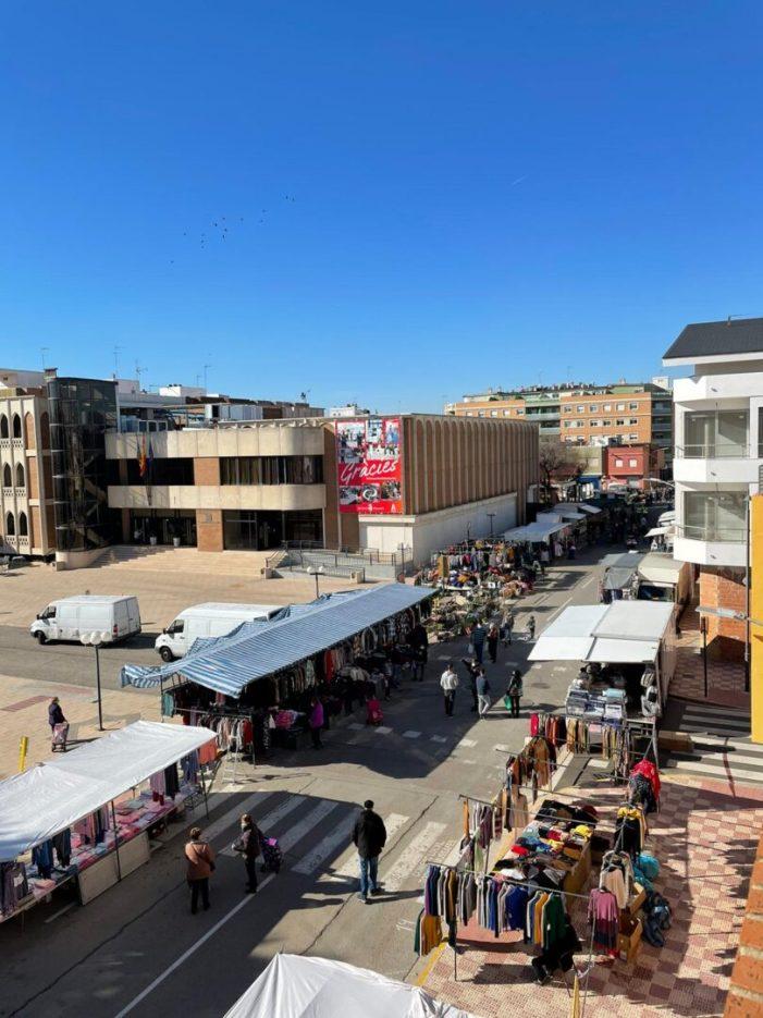 El mercat ambulant d'Almussafes torna aquest dimarts en nova ubicació i amb control d'aforament