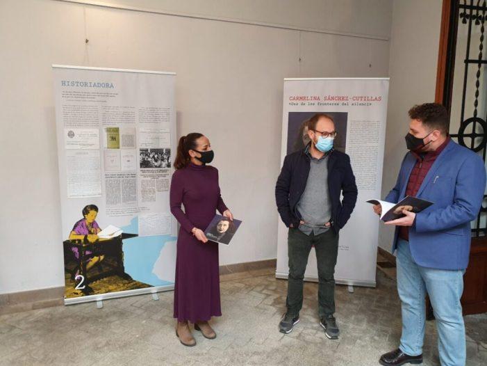 L'Espai Joan Fuster acull una exposició sobre l'escriptora Carmelina Sánchez-Cutillas dins dels actes commemoratius pel 8M a Sueca