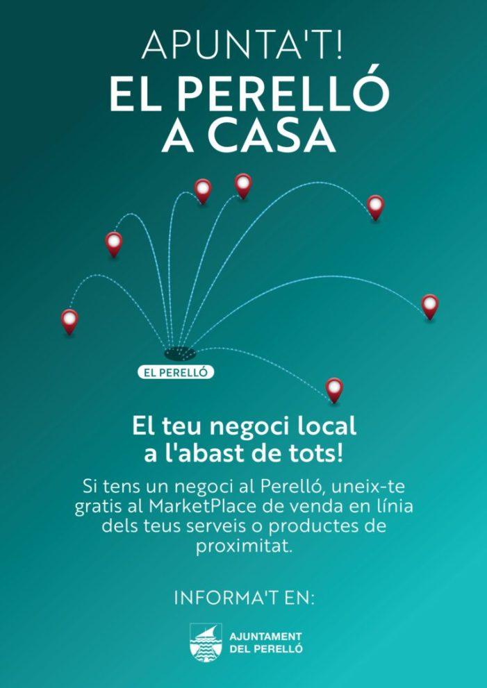 L'Ajuntament del Perelló llança el Marketplace 'El Perelló a casa' per a fomentar la compra en el comerç local