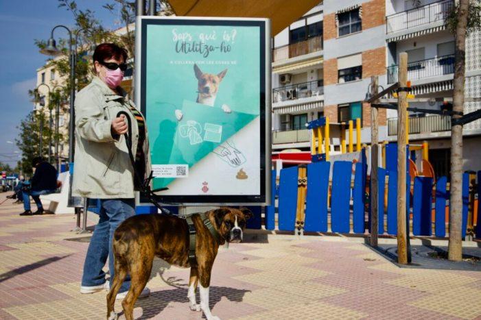Cullera engega una nova campanya dirigida a la responsabilitat de les persones propietàries de mascotes