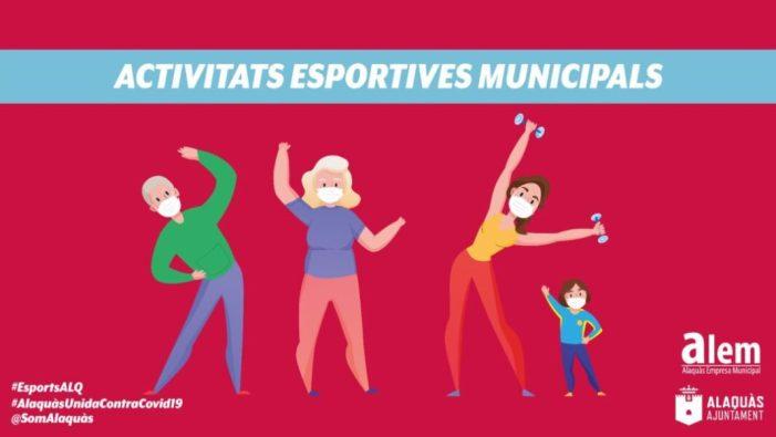 L'Ajuntament d'Alaquàs ha compartit des del passat 25 de gener un total de 133 vídeos de diferents disciplines esportives