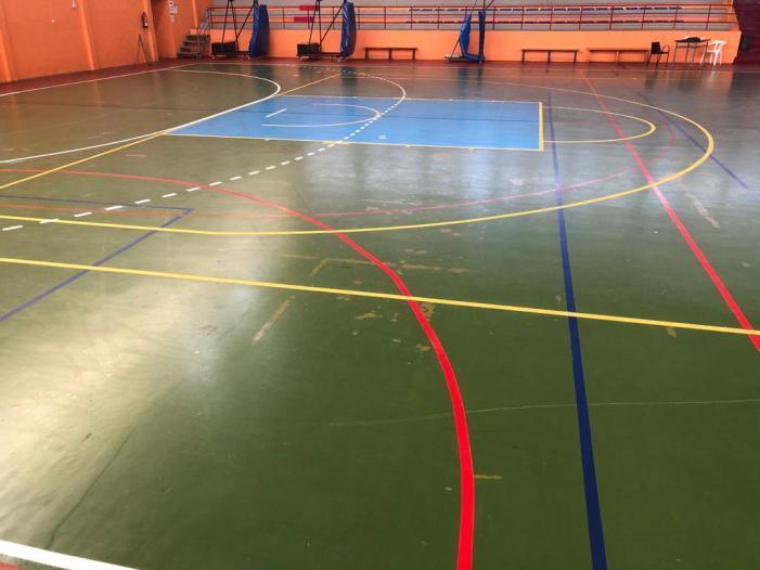 La Regidoria d'Esports ha realitzat obres de manteniment i millora al pavelló Pérez Puig d'Alzira